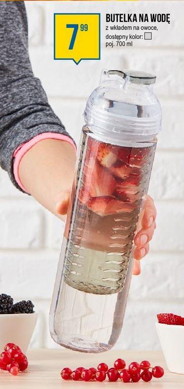 Bidon - butelka z wkładem na owoce/lód, 700 ml - PEPCO