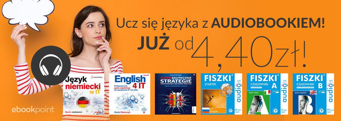 Języki obce: fiszki audio od 4,40 zł @ ebookpoint, Helion