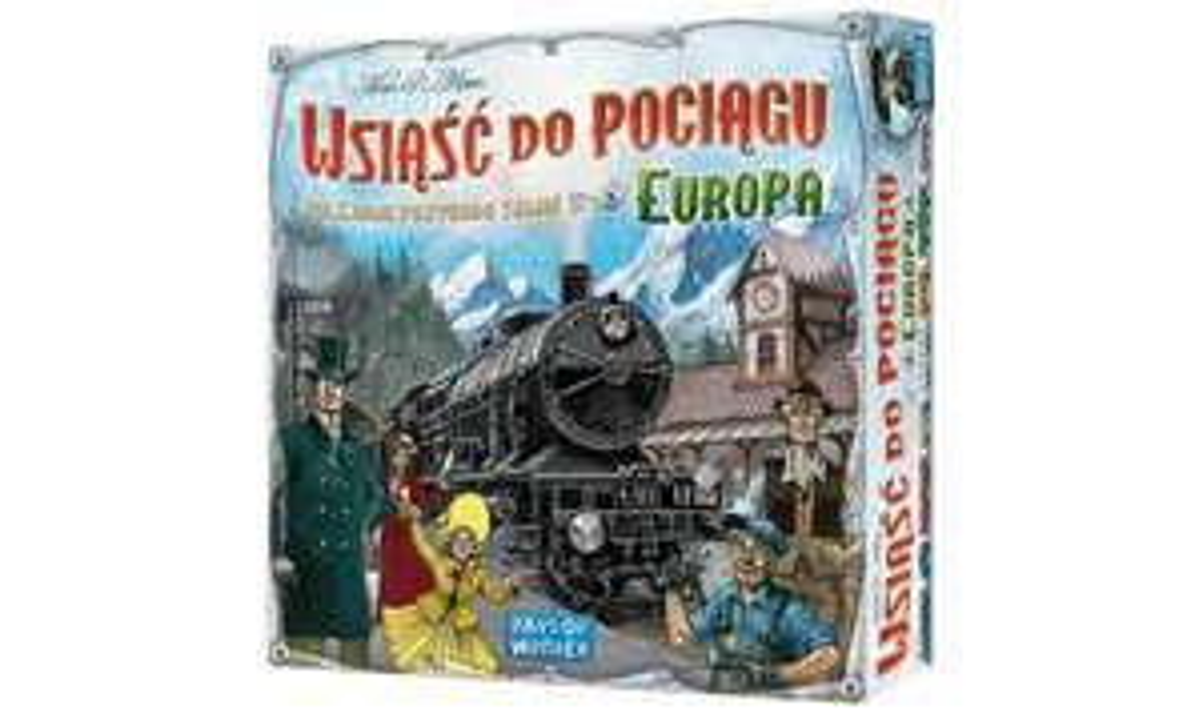 Gra Wsiąść do Pociągu: Europa za 95 zł na walentynki