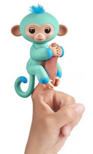 zabawka interaktywna - WowWee Fingerlings Małpka Eddie