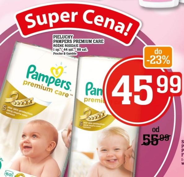 Pieluszki Pampers Premium Care za 45,99zł @ Piotr i Paweł
