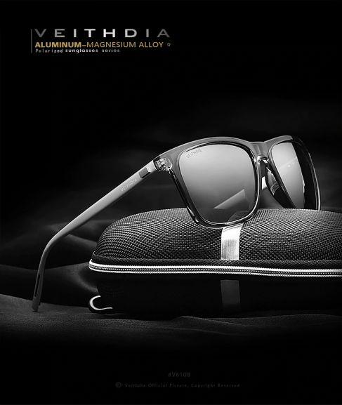 [Zbiorcza oferta] Okulary Veithdia z filtrem UV i polaryzacją w bdb cenie