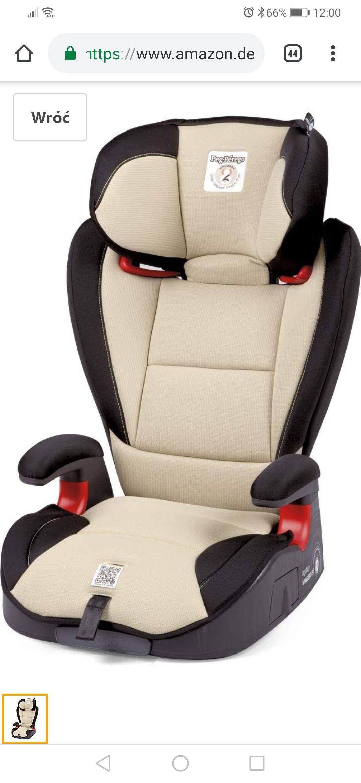 Fotelik samochodowy Peg Perego Viaggio 2-3 Surefix  Sand 100 euro