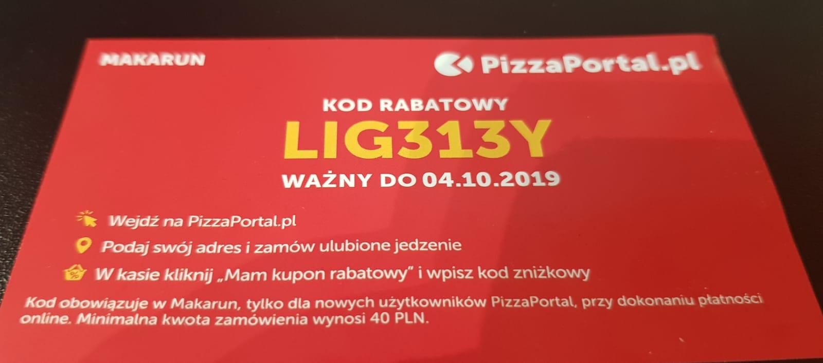 Makarun Łódź 20/40 pizzaportal.pl