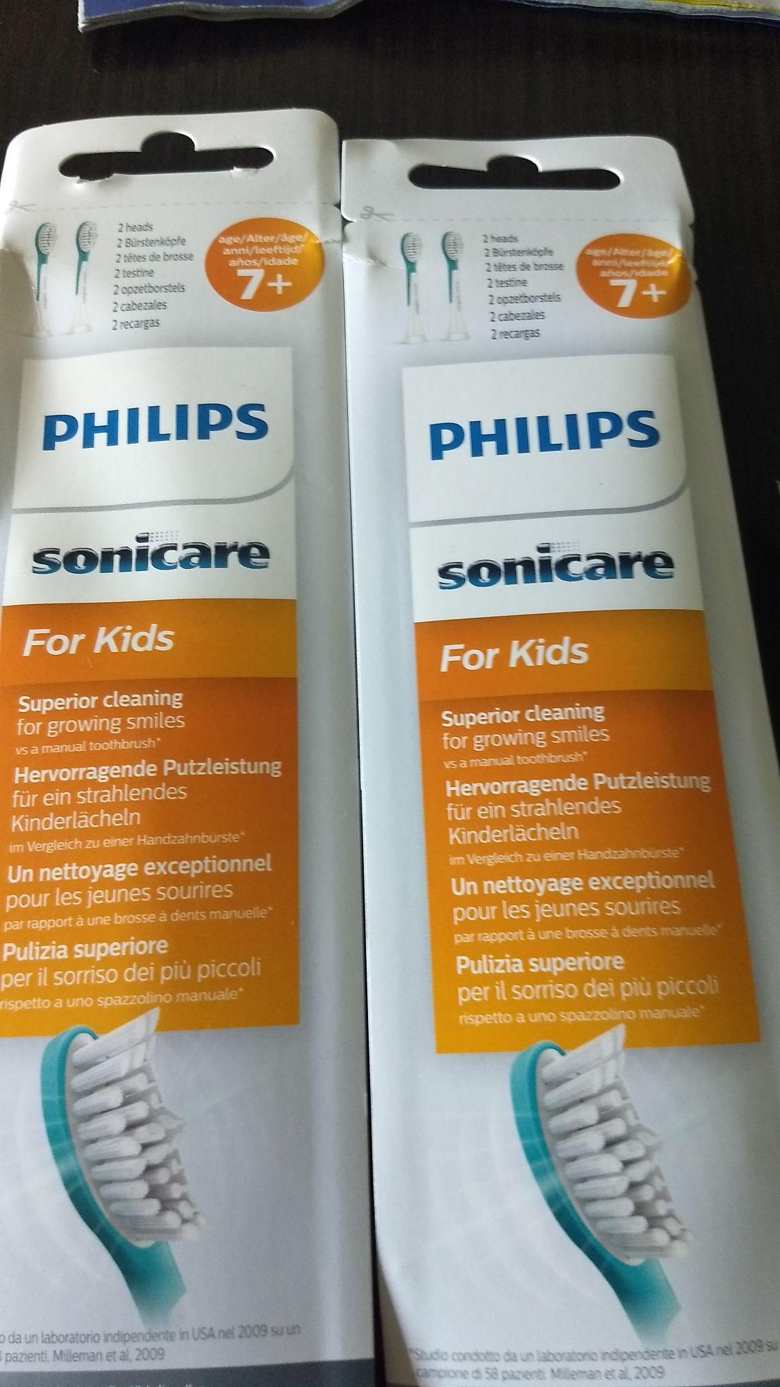 Philips Sonicare dla dzieci HX6042/33 cena regularna to 2 sztuka w cenie 49.99 a tu super w cenie 25.00 za opakowanie .