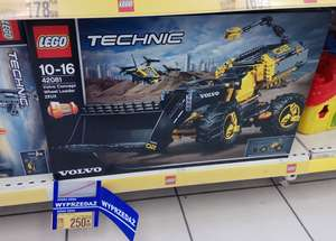Lego Technic 42081 - Volvo Concept Loader - Auchan Manufaktura Łódź