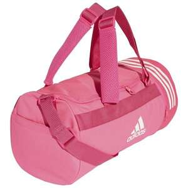 Torba sportowa i/lub plecak adidas Convertible 3-Stripes różowa