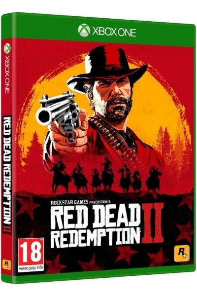 Red Dead Redemption 2 II PL + nakładki na analogi Xbox One