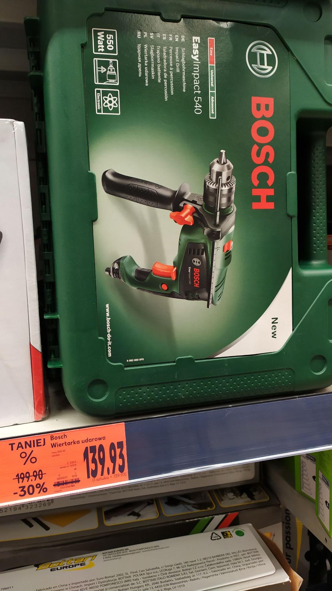 Kaufland sosnowiec wiertarka udarowa Bosch impact 540