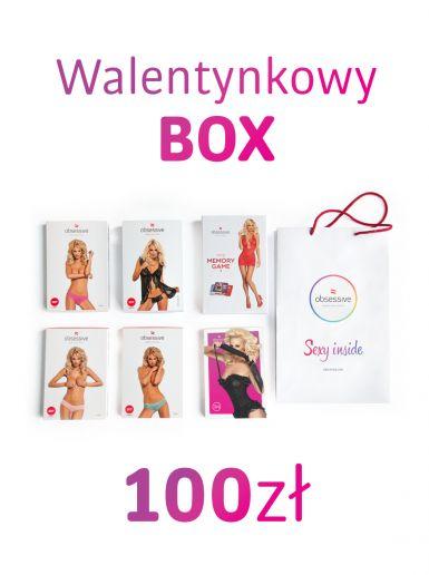 Walentynkowy box bielizny od Obsessive 42% taniej