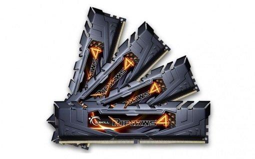 Pamięć RAM DDR4 G.Skill Ripjaws4 32GB (4x8GB) 2400MHz CL15