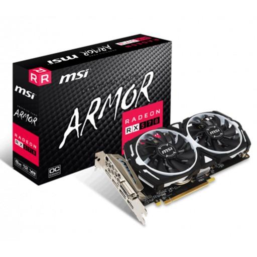 outlet / karta graficzna MSI Radeon RX 570 ARMOR OC 8GB