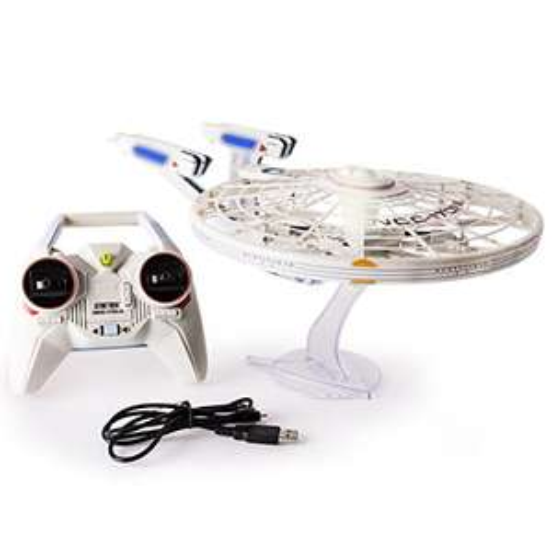 Spin Master 6027406 – Air Hogs – Star Trek Enterprise Quad