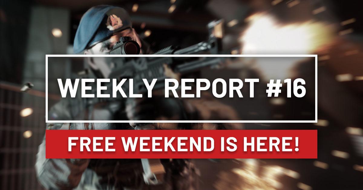 World War 3  - free weekend - 20-23 czerwca