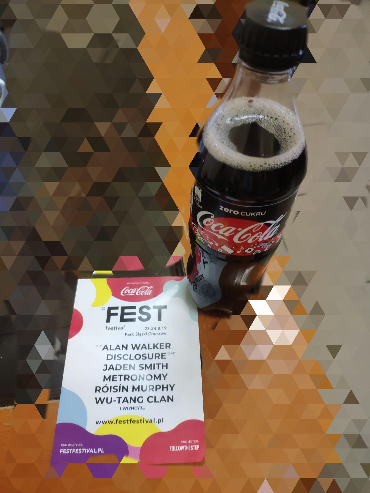 Darmowa Coca-Cola zero UE Katowice