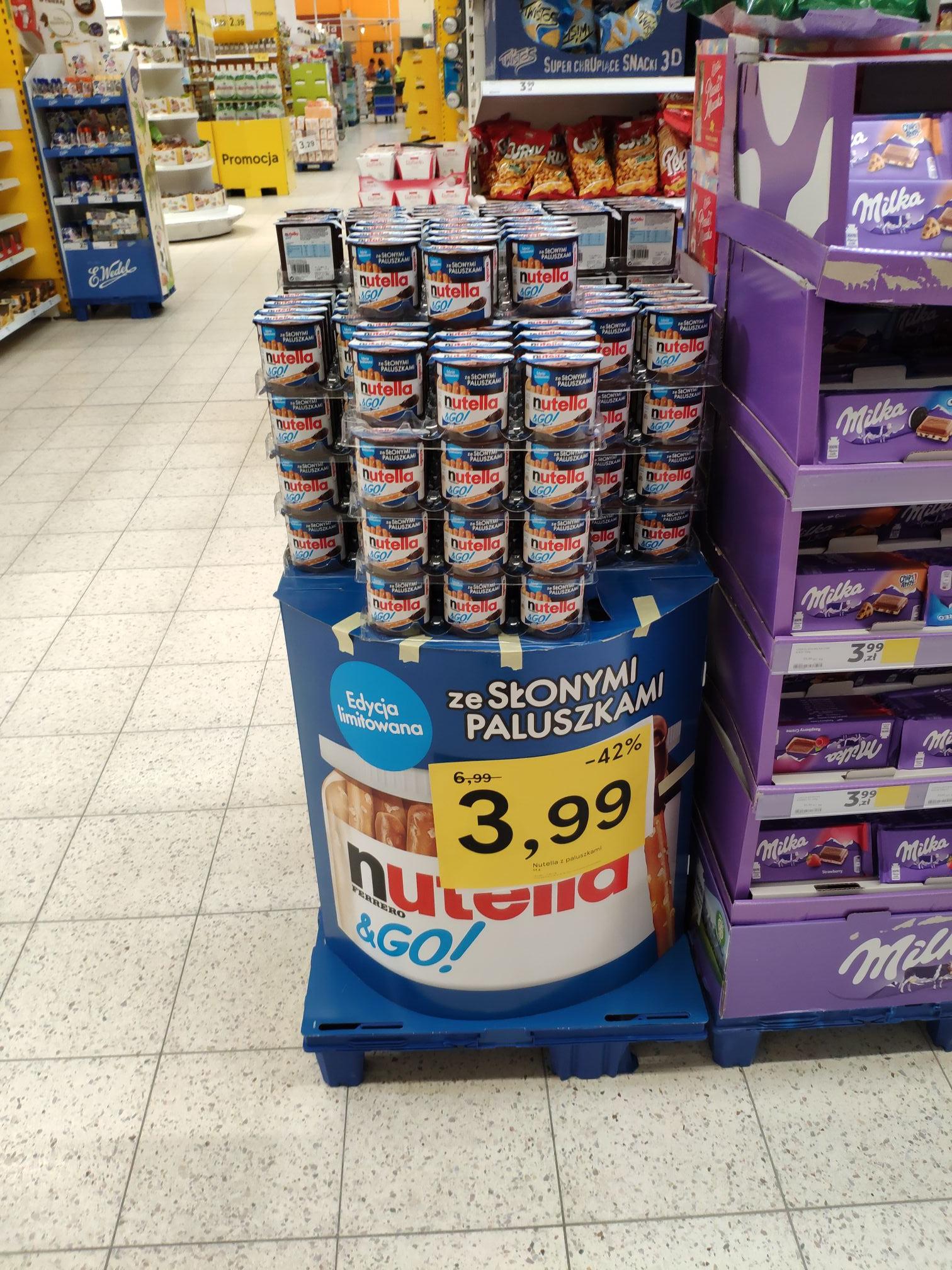 Nutella&Go Salt Tesco Gdańsk Chełm