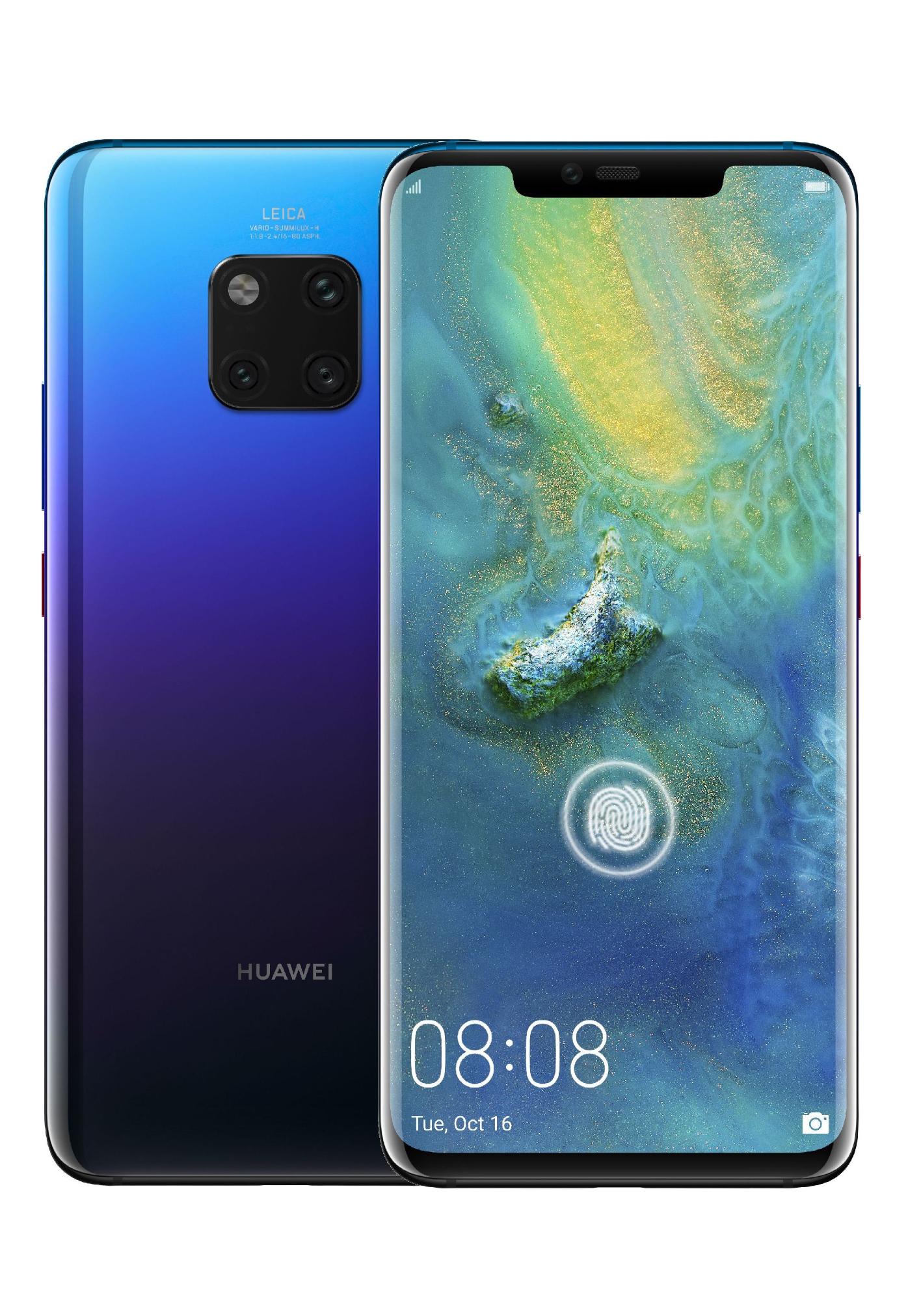Huawei Mate 20 Pro 6/128GB Niebieski. Najtaniej na tę chwilę. Amazon.de