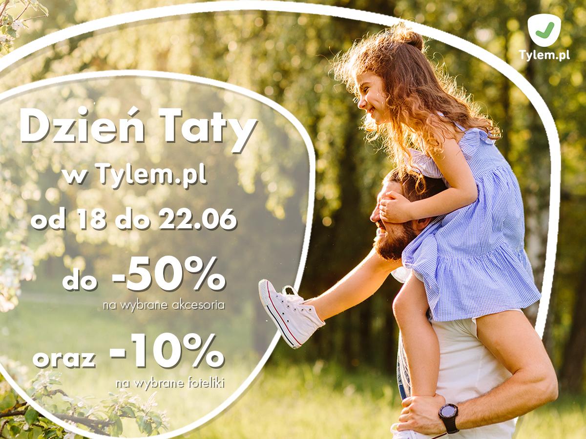Tańsze foteliki samochodowe -10% dla dzieci i akcesoria do -50% w Tylem.pl