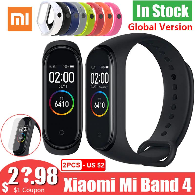 Xiaomi Mi band 4 jeszcze taniej 23,59$