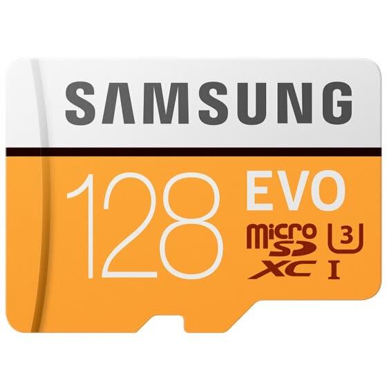 Karta pamięci Samsung EVO microSDXC 128GB (wideorejestrator)