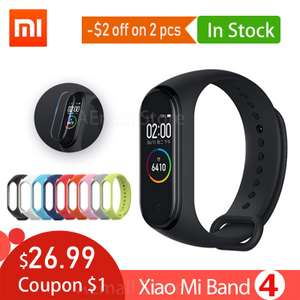 Mi Band 4 z Aliexpress 23,59$ - Chinese Version