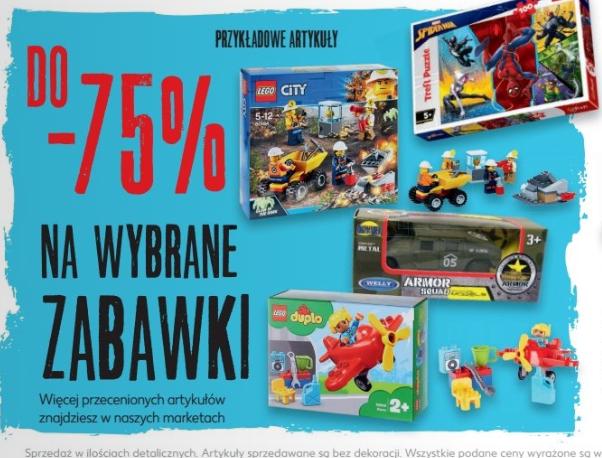 Do -75% Na wybrane zabawki @Kaufland