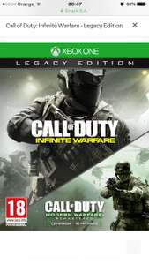 Empik Call of Duty: Infinite Warfare - Legacy Edition Xbox One