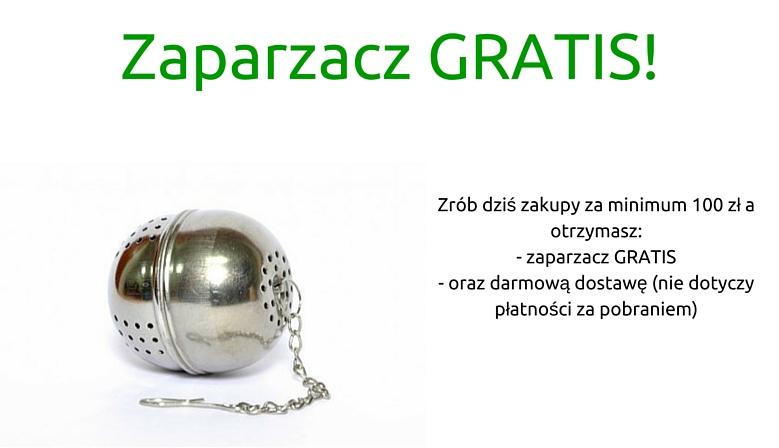 Darmowa dostawa + zaparzacz GRATIS!