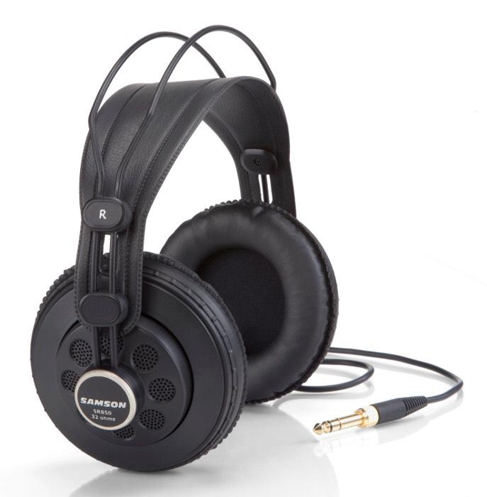SAMSON SR850 profesjonalne otwarte (pół-otwarte) słuchawki