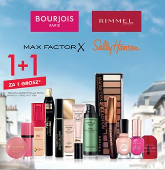 1+1 za grosz na wybrane marki makijażowe i żele pod prysznic Original Source @ Super-Pharm