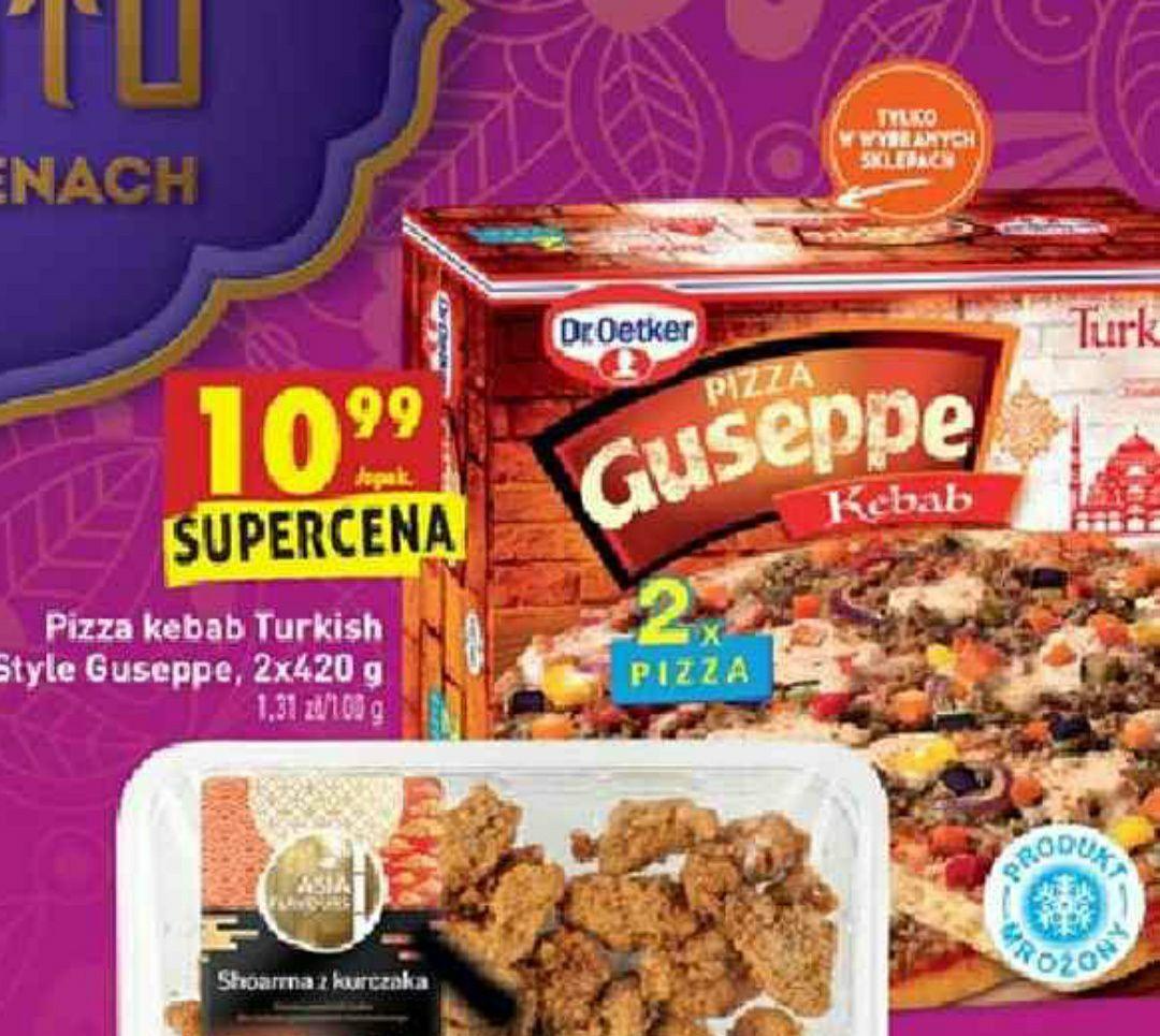 Pizza Guseppe Kebab 2x420g @Biedronka