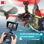 XK X250 Alien - Tani quadcopter z kamerą i monitorem FPV
