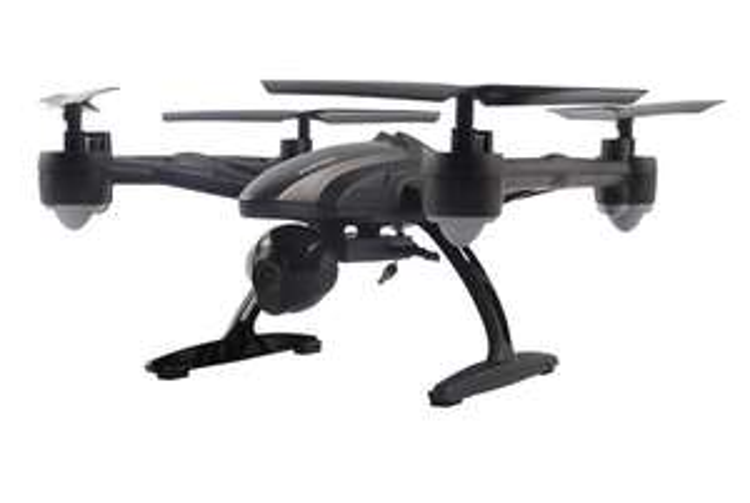 Quadcopter JXD 509G - Tani dron z kamerą i monitorem FPV