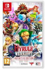 Hyrule Warriors Definitive Ed. ANG Nintendo Switch