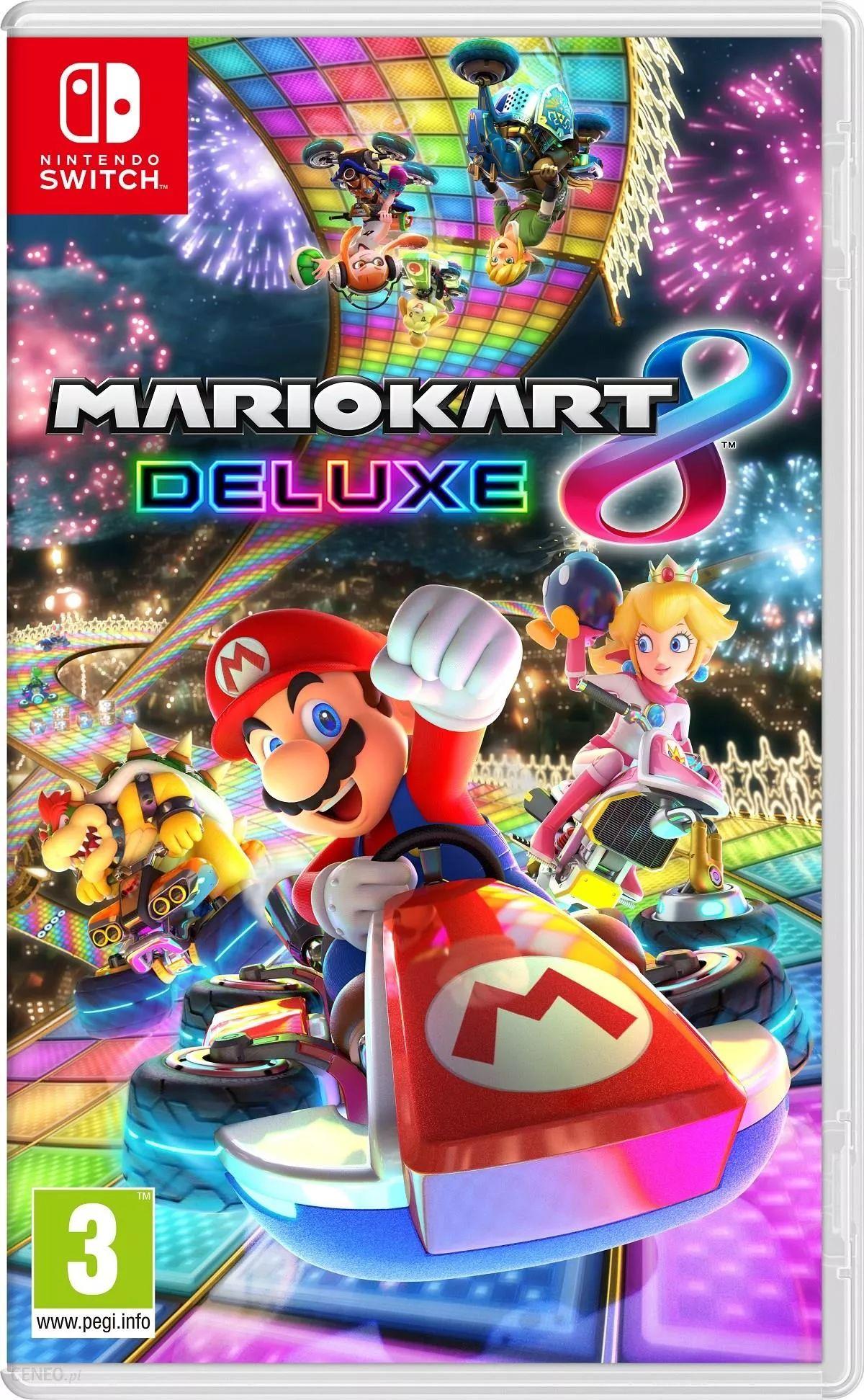 Mario Kart 8 Deluxe Pudełkowa wersja @ PerfectBlue.pl