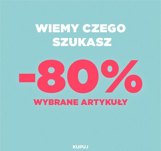 80% rabatu (czasem więcej!) na wyprzedaż zimową + 20% DODATKOWEGO rabatu @ Mango Outlet