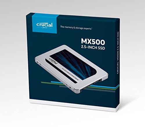 Dysk SSD Crucial MX500 1TB @ Amazon w cenie EUR 113,59 czyli ~485zł [Aktualizacja - cena w górę]
