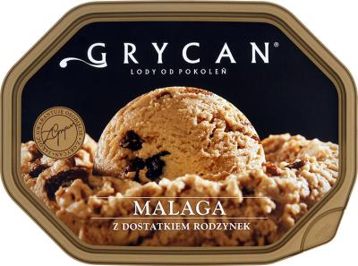 Lody Grycan 0,9-1,1L, różne smaki, w Auchan, cena z aplikacją