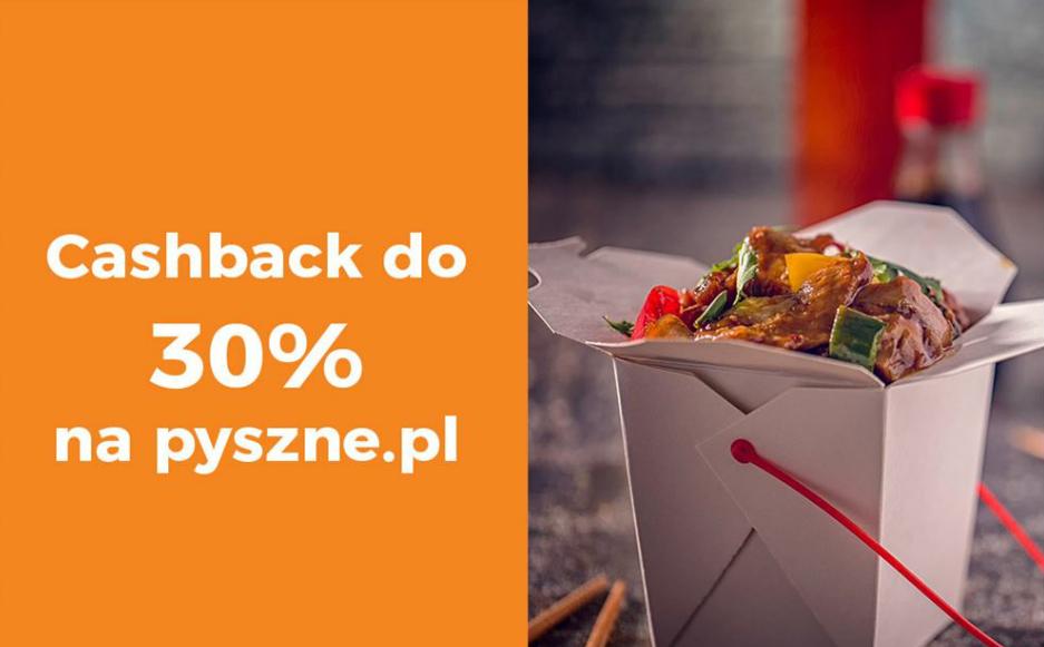 Cashback Goodie do 30% na Pyszne.pl