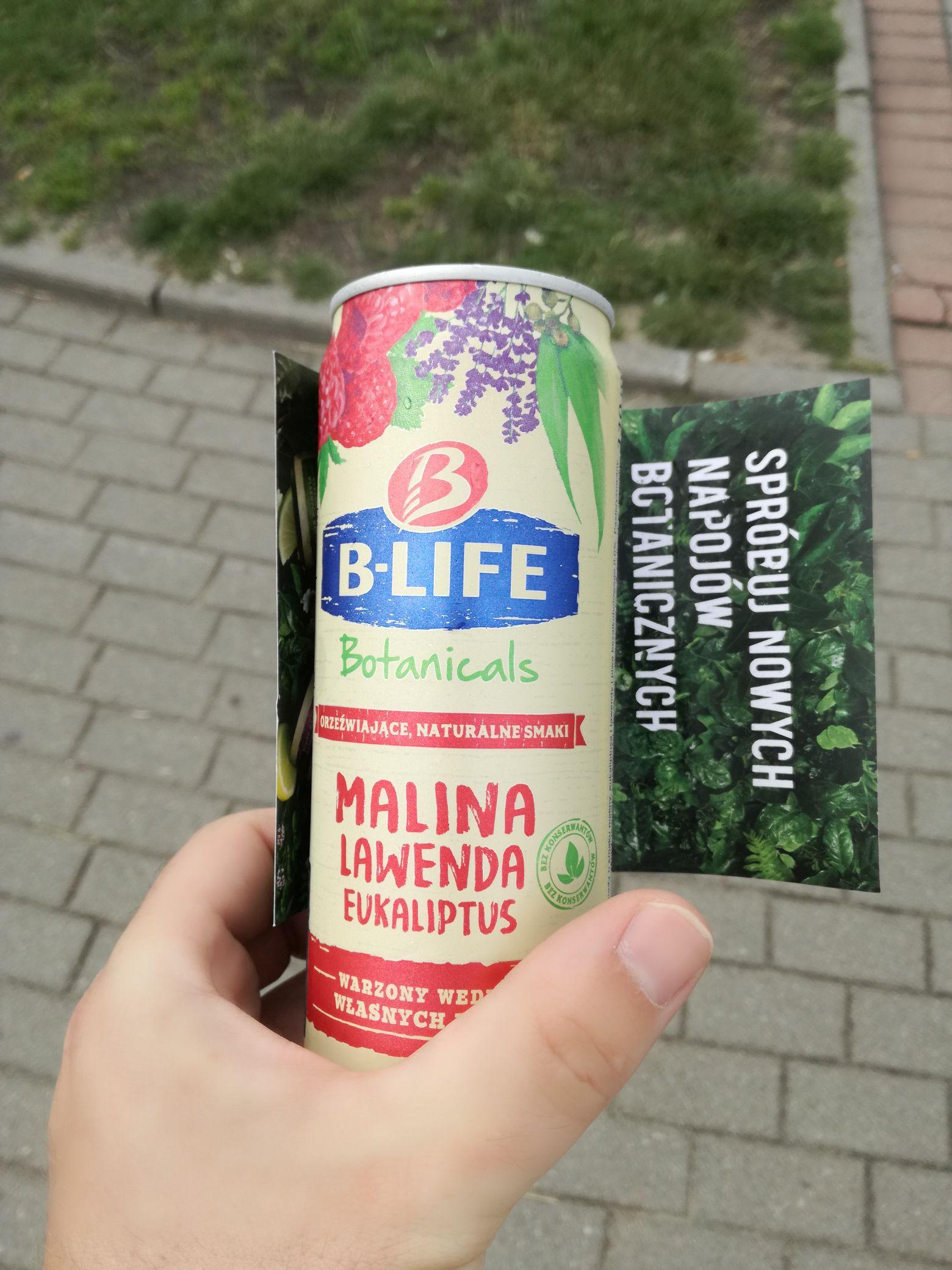 B life biotanicals napój przy ORP Błyskawica Gdynia