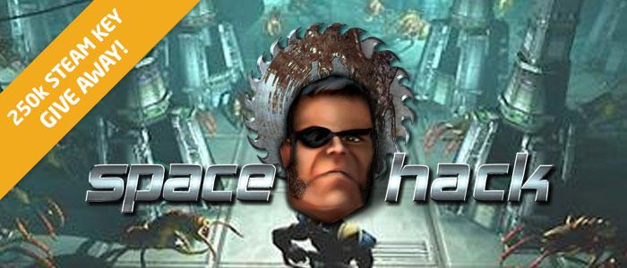Space Hack za DARMO (250 tyś. kluczy Steam do rozdania) @ Bundle Stars