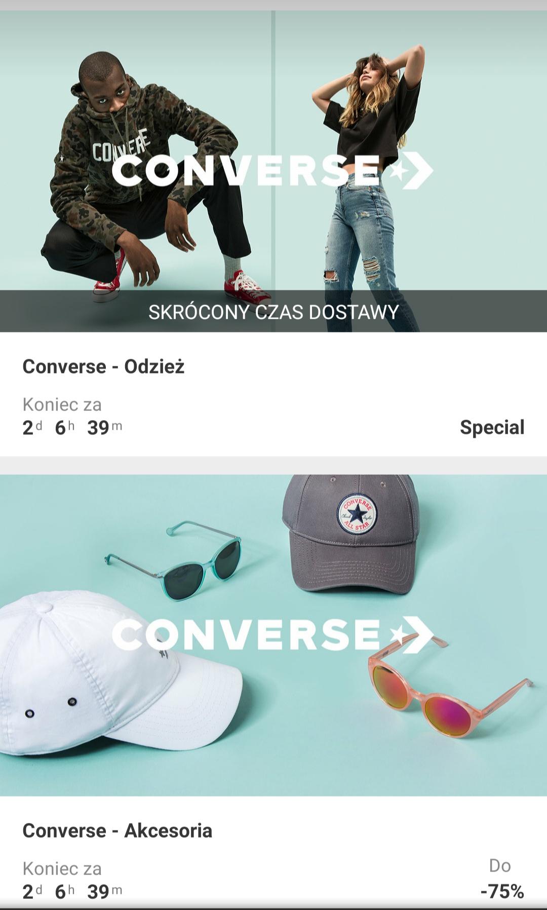 Converse - akcesoria, obuwie, odzież w zalando lounge