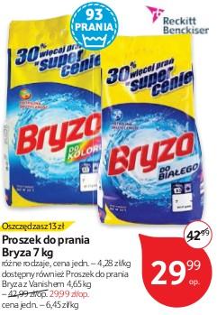 Proszek do prania Bryza  7 kg  TESCO HIPERMARKET