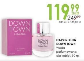 Woda perfumowana Calvin Klein Down Town  Drogerie Natura