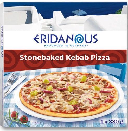 ERIDANOUS Pizza kebab, mrożona @Lidl