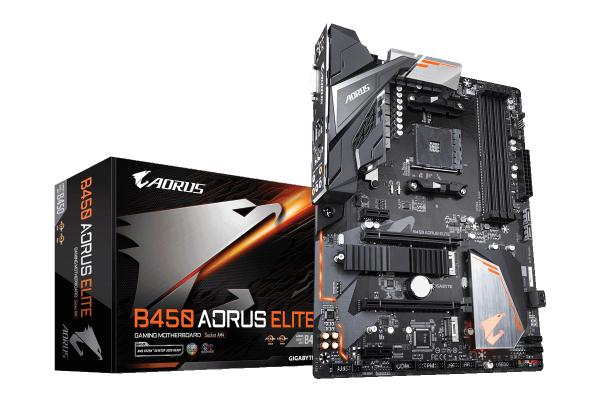 Aorus B450 Elite + Ryzen 5 2600