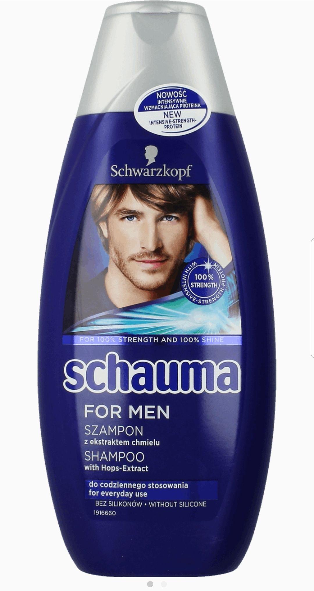 Szampon SCHAUMA FOR MEN. Rossmann
