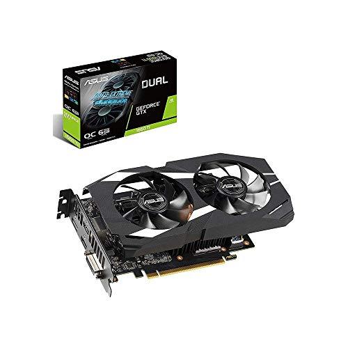 Asus GeForce GTX 1660Ti Dual OC 6GB Amazon.de cena 270 Euro