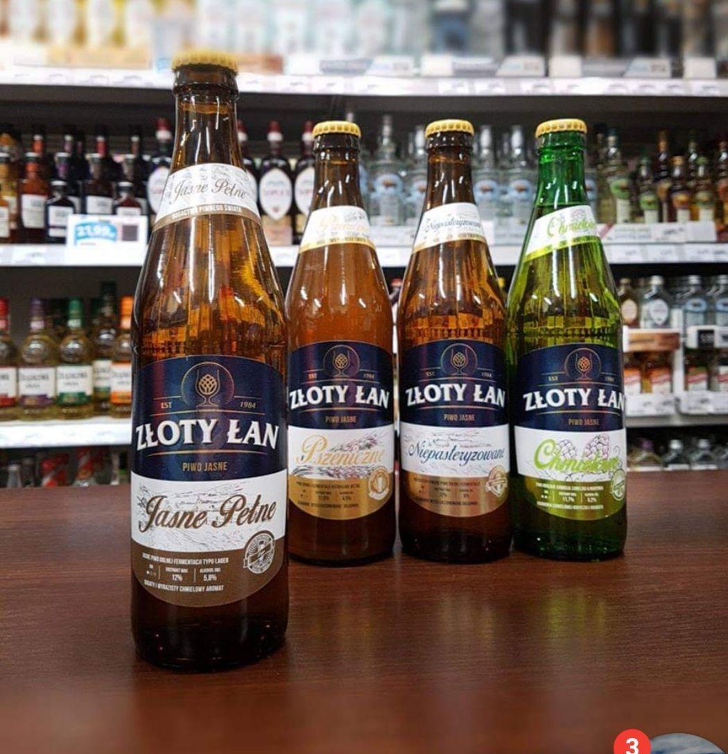 Piwo Złoty Łan - Mix w czteropaku