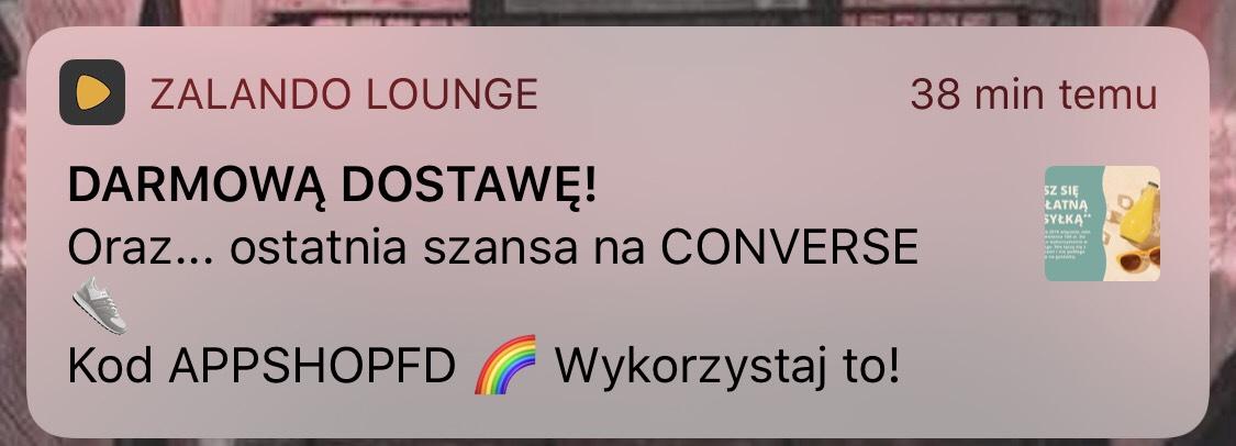 Darmowa dostawa z Zalando Lounge - MWZ 160 zł